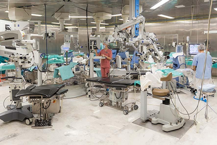 مركز-فيدروف غرفة العمليات